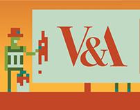 V&A Museum   Advertising Hoarding