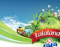 Ilustración promocional Lalalandia 2011