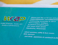 WCAP Fundraiser Invitation & Reply Cards