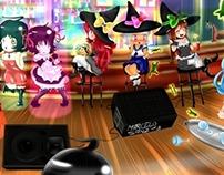 hard party (fanart)