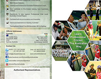 Marketing Material for School of Sports Australia