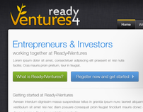 Entrepreneur & Investor management App - Site design