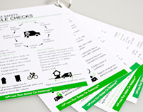 Health & Safety Info Cards