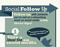 Social Follow Up Infographic