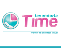 Lavanderia Time - Manual de Identidade Visual