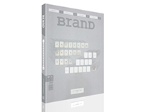 "BranD Magazine -""The Typography Issue"""