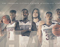 Mississippi State Basketball Schedule Posters
