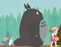 Totoro Title Sequence Character Design
