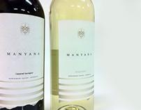 Manyana Wine Labels