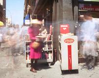 pinhole photography : city