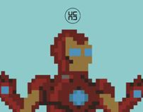 Ironman Pixel