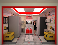Mitsubishi Electric Showroom