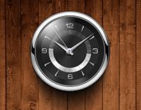 RagenTekPhone Clock Widget design