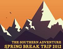 Southern Adventures Spring Break Poster