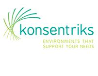 Konsentriks Logo Options