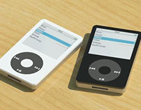 Apple iPod Classic (5th Gen) Revit Family