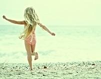 Kinders op die strand
