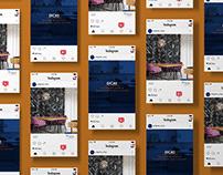 social media // poligress shop