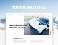 Tatamotors Website Redesign Concept