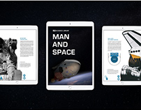 TimeLife Man & Space: The Interactive iPad Experience