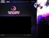 Diseño de landing page AudioPositivo