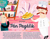 ILLUSTRATIONS for CHILDREN MAGAZINE ~ SLNIEČKO