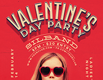 Valentine's Day Flyer & Social Templates