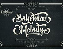 Bohemian Melody Typeface