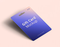 Gift Card Mockup 2