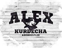 Alex Kurdecha - Armwrestler logo