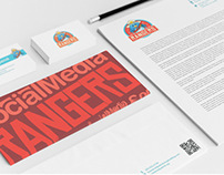 Social Media Rangers - Brand Identity