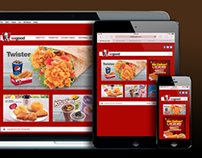 KFC Brunei Website Revamp
