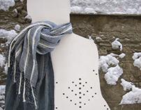 Serie of Scarfs for Lumm Tekstiil 2009