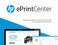 HP ePrint Center