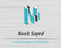 NOOH SAYED - Infographic CV
