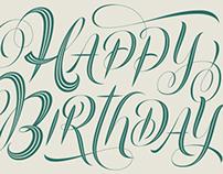 Harrods - Happy Birthday