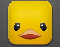 Big Rubber Duck Icon