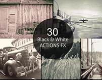 30 Black & White ACTIONS