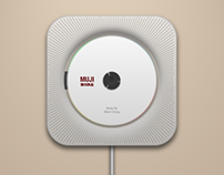 MUJI CD Player Icon