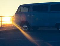 Vintage Volkswagen Van