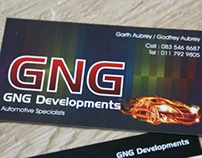 GNG Developments - Business Cards