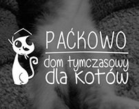 Packowo, cat shelter logo