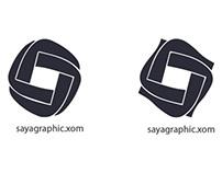 logo for saya graphic