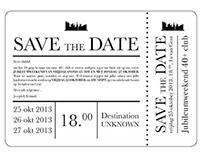 Save the Date: Destination Unknown