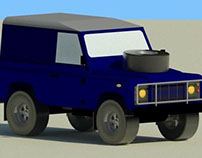 Land Rover Defender 90 (1985) Revit Family