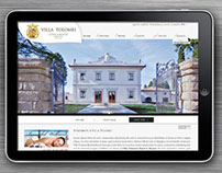 Website for a Luxury Hotel in Florence