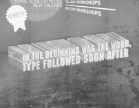 TypeCon Poster - Society of Typographic Aficionados