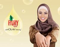 Fairy  Olay Campaign