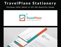 Travel Plane -  Corporate Stationery