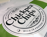 Chickpea Chips Packaging